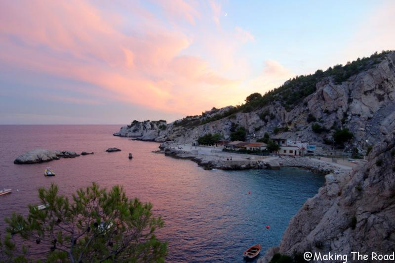 Marseille - La Vesse depuis la pointe de Figuerolles
