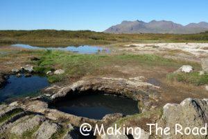 Islande bain chaud Landbrotalaug