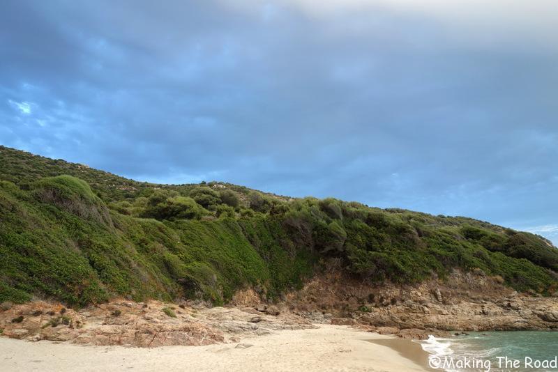 Corse - Cargese plage - Menasina