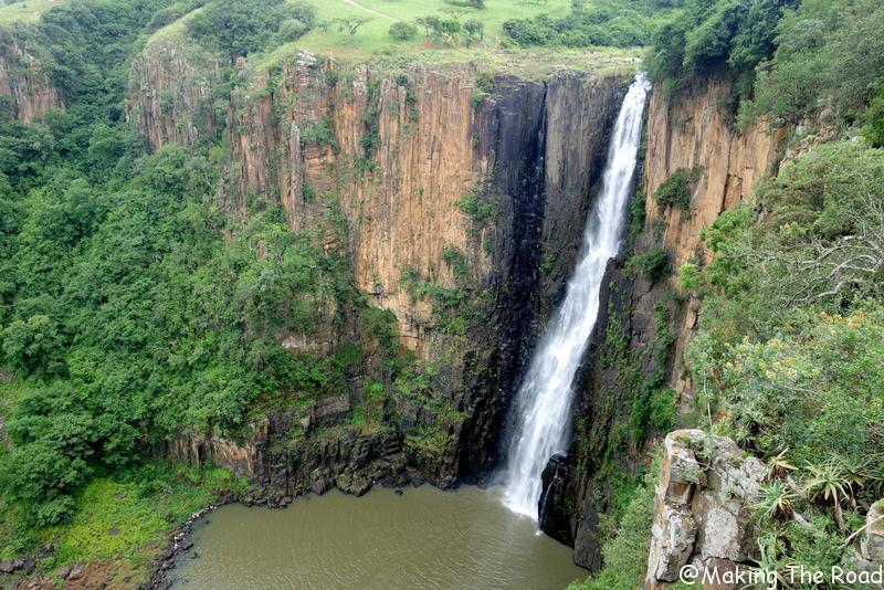 Afrique du sud - drakensberg - cascade howick