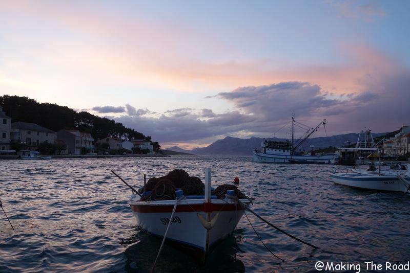 Croatie - Ile de brac - povjla