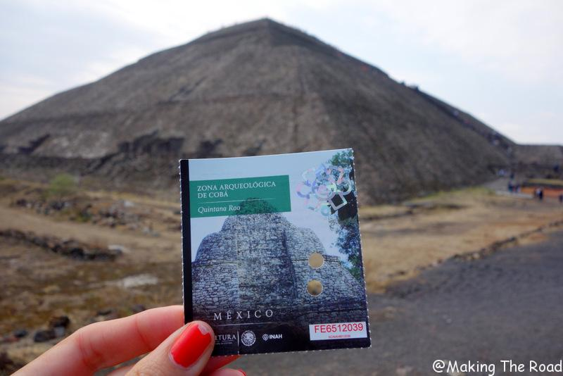 escale Mexico - pyramides - Teotihuacan
